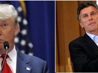 Presidents Trump and Macri